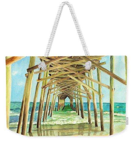 Coastal Cathedral  Weekender Tote Bag