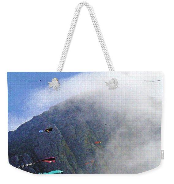 Coastal Kites Weekender Tote Bag