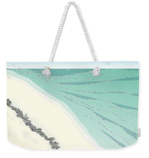 Coastal Wash Weekender Tote Bag