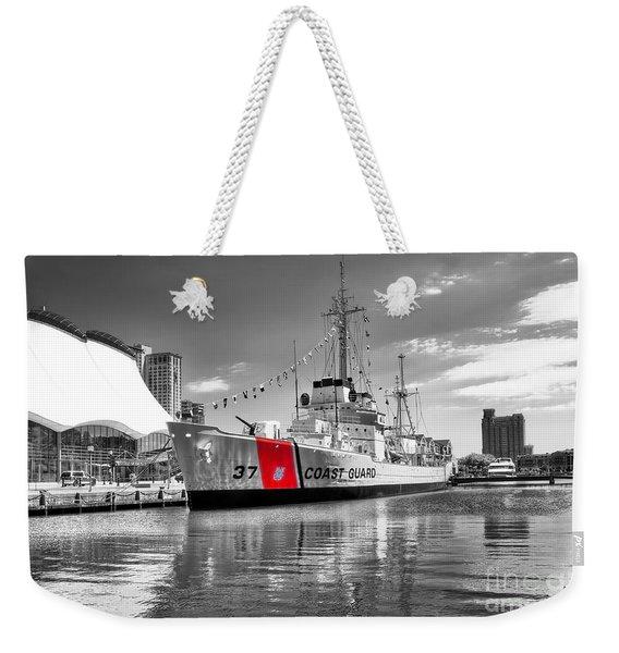 Coastguard Cutter Weekender Tote Bag