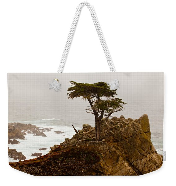 Coastline Cypress Weekender Tote Bag