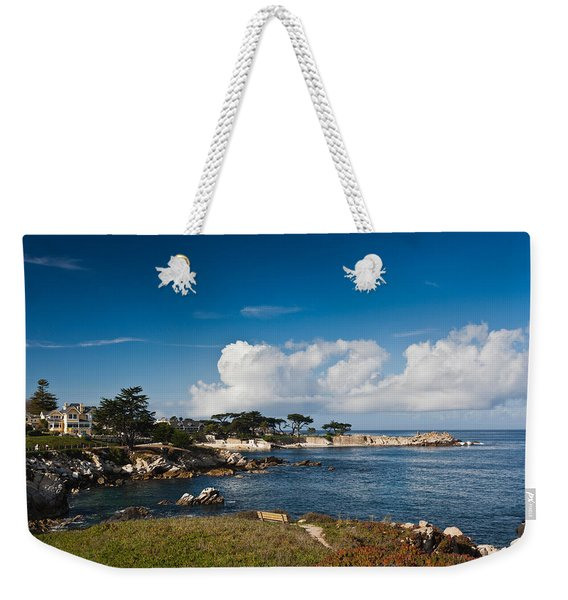 Coastline, Monterey Bay, Monterey Weekender Tote Bag