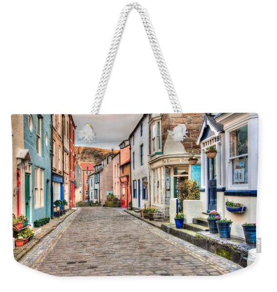 Cobbled Street Weekender Tote Bag