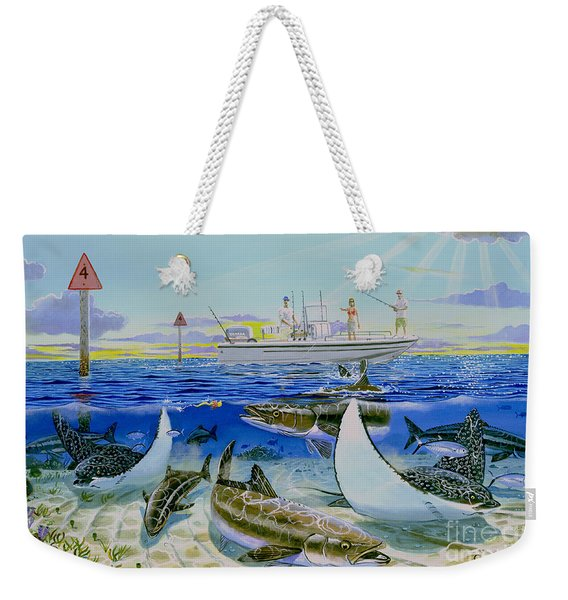 Cobia Run In004 Weekender Tote Bag
