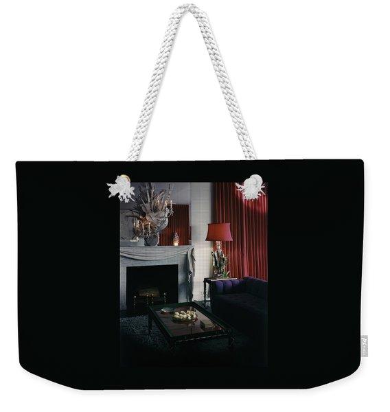 Cobina Wright's Living Room Weekender Tote Bag