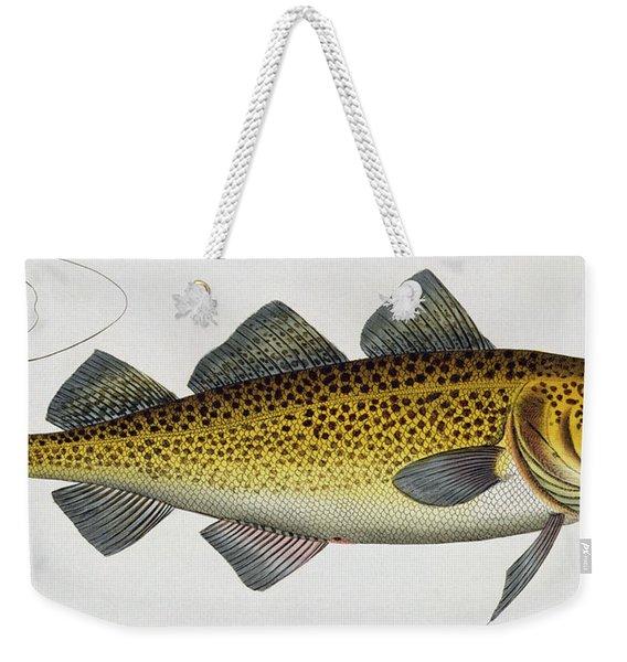 Cod Weekender Tote Bag