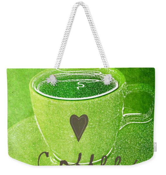 Coffee Weekender Tote Bag