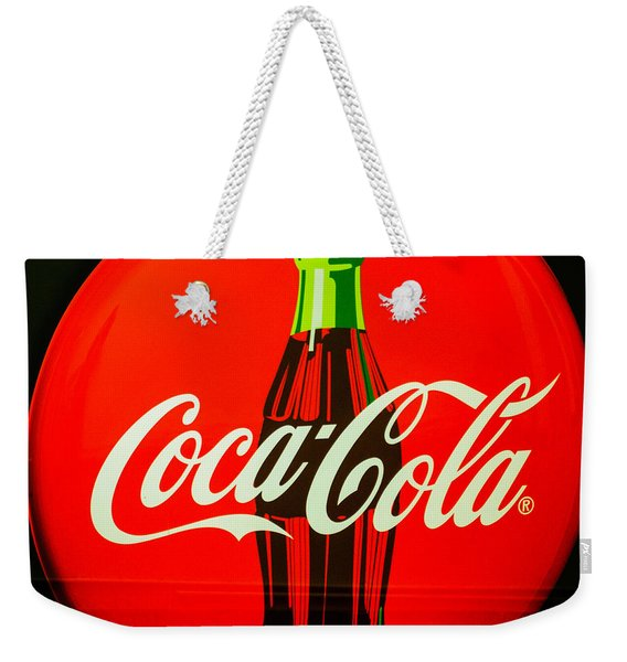 Coke Top Weekender Tote Bag