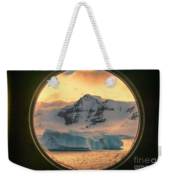 Cold View Weekender Tote Bag