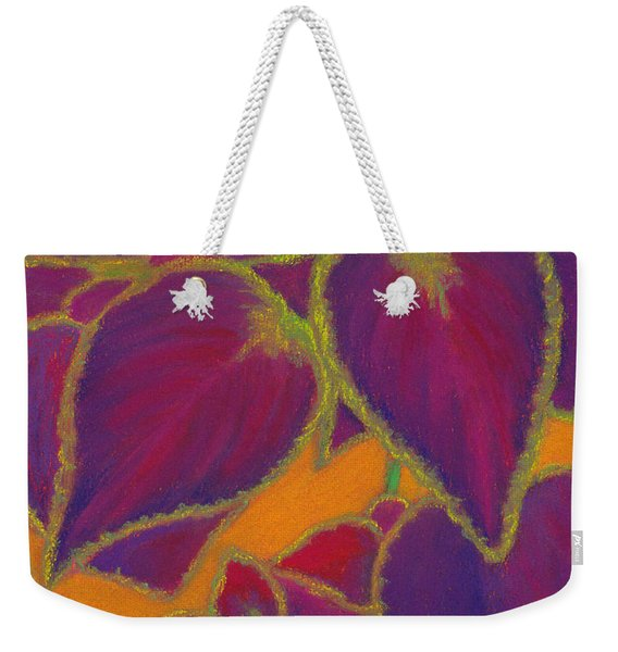 Coleus Gone Wild Weekender Tote Bag