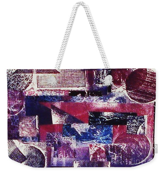 Collage Weekender Tote Bag