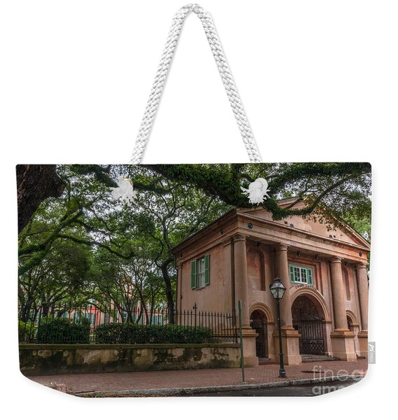 College Of Charleston Campus Weekender Tote Bag