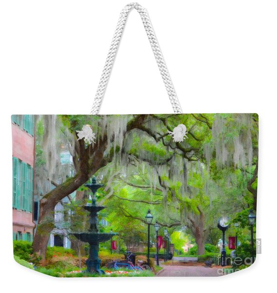 College Of Charleston Weekender Tote Bag