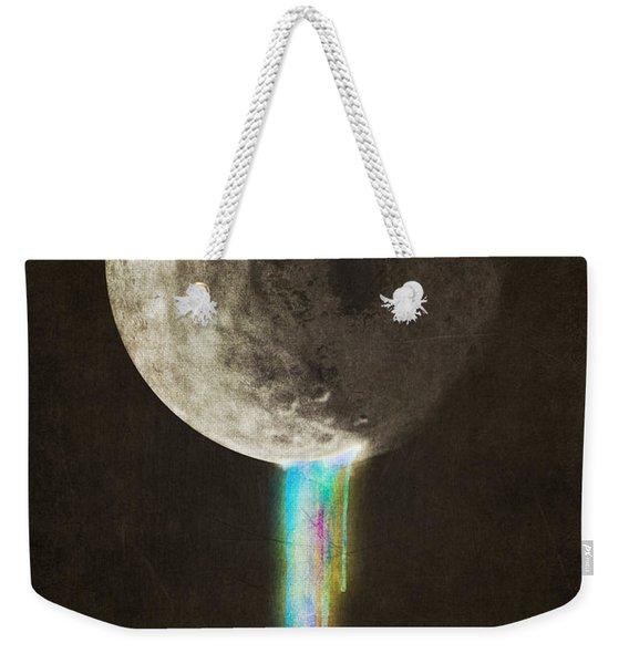 Color Bleed Weekender Tote Bag