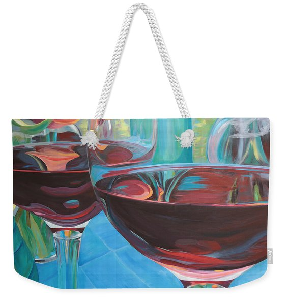 Color Flow Weekender Tote Bag