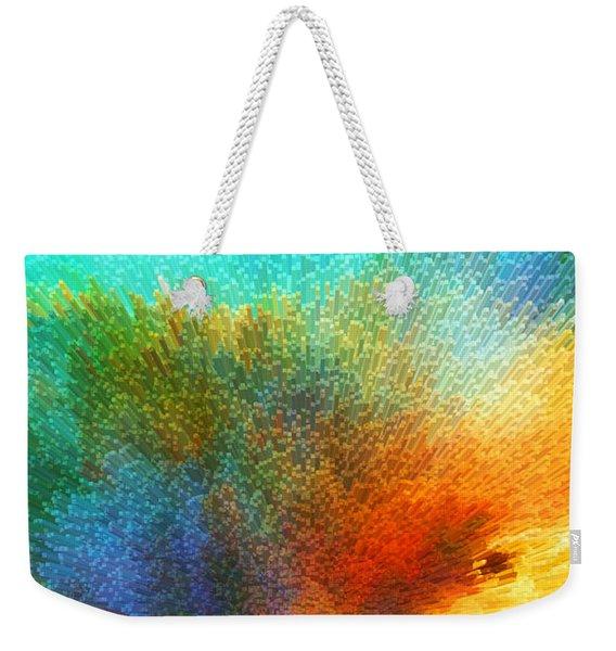 Color Infinity - Abstract Art By Sharon Cummings Weekender Tote Bag