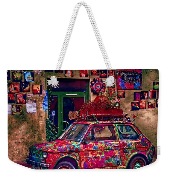 Color On The Road In Krakow- Poland Weekender Tote Bag