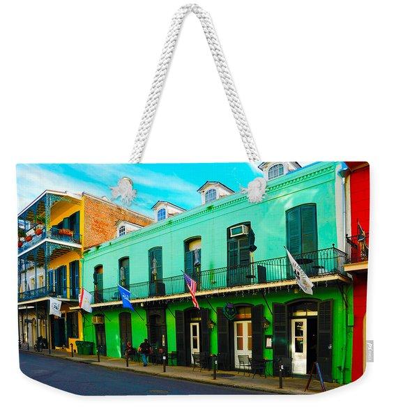 Color Perspective Weekender Tote Bag