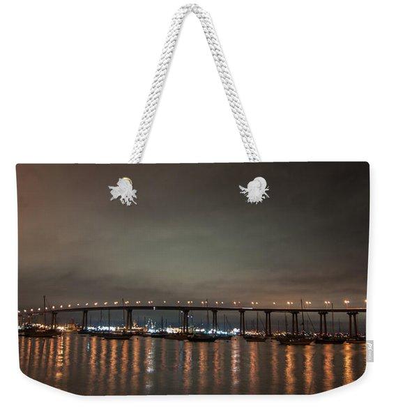 Coronado Bridge San Diego Weekender Tote Bag