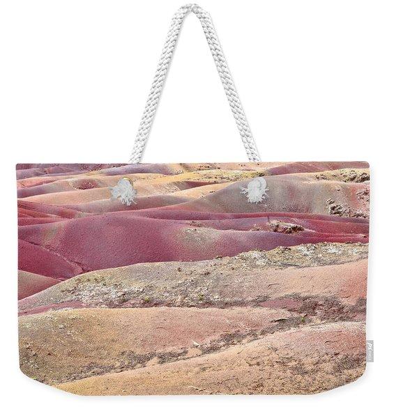 Colored Earth Weekender Tote Bag
