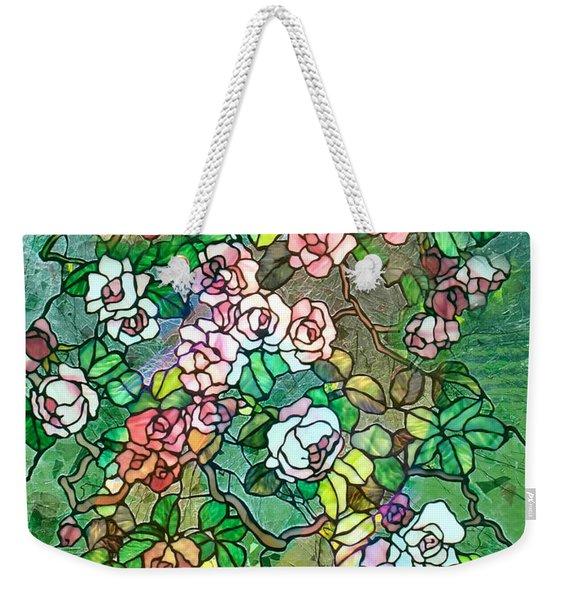 Colored Rose Garden Weekender Tote Bag
