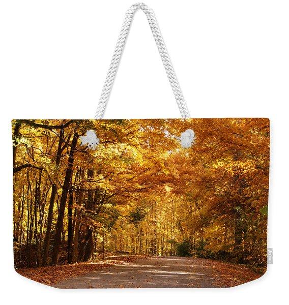 Colorful Canopy Weekender Tote Bag