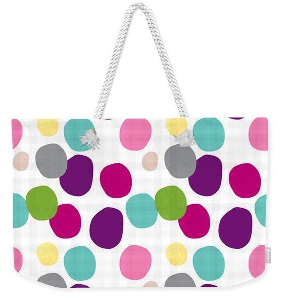 Colorful Confetti 2 Weekender Tote Bag