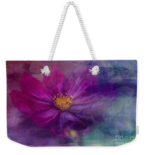 Colorful Cosmos Weekender Tote Bag