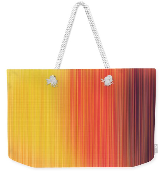 Colorful Fibres Weekender Tote Bag