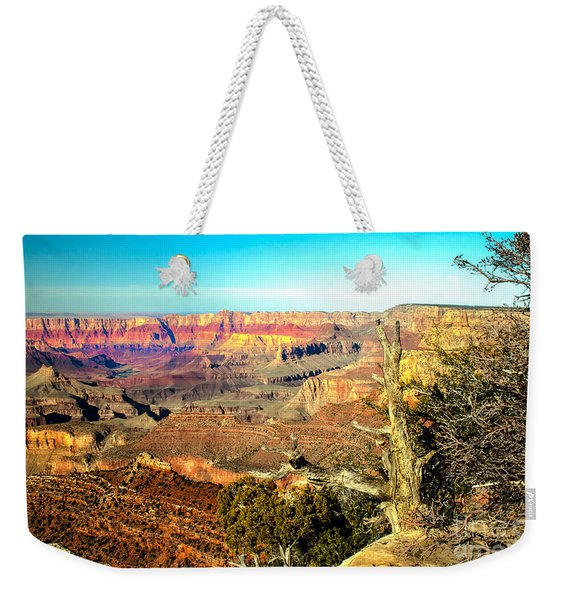 Colorful Grand Canyon Weekender Tote Bag