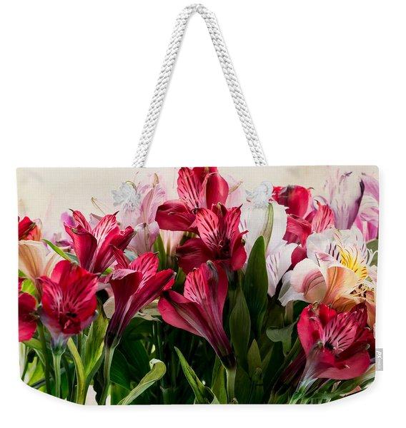 Colorful Peruvian Lillys Weekender Tote Bag