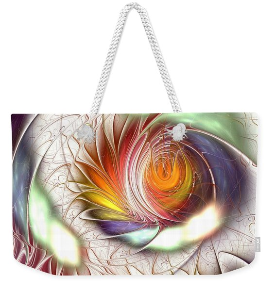 Colorful Promenade Weekender Tote Bag