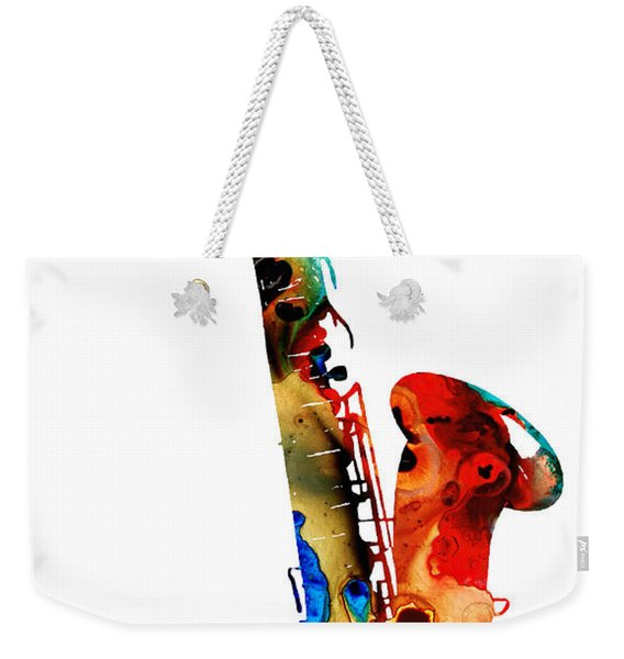 Colorful Saxophone By Sharon Cummings Weekender Tote Bag