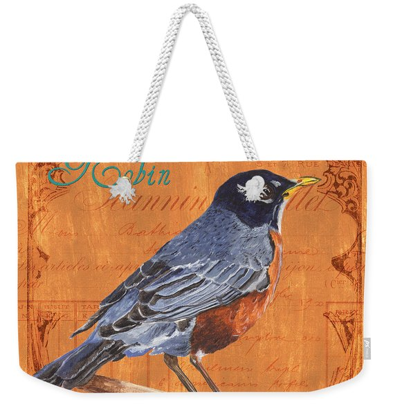 Colorful Songbirds 2 Weekender Tote Bag