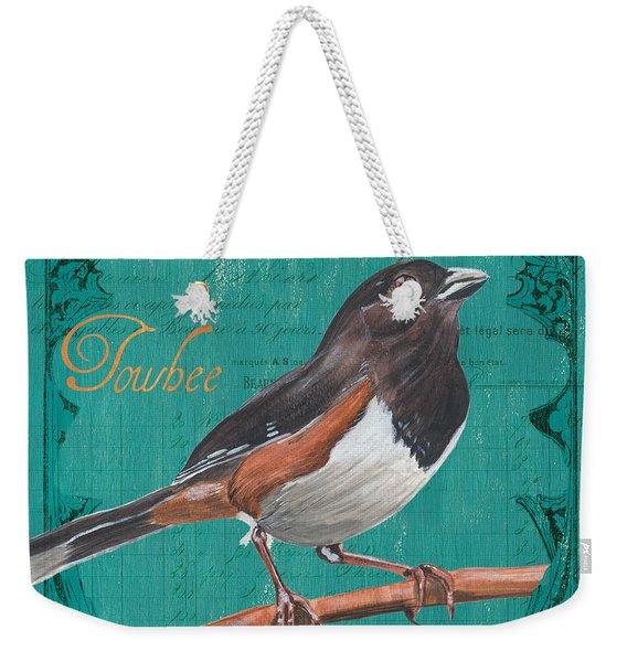 Colorful Songbirds 3 Weekender Tote Bag