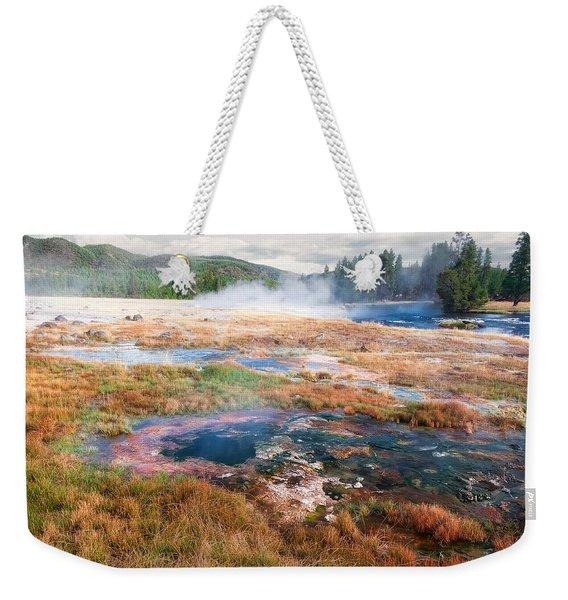 Colorful Waters Weekender Tote Bag