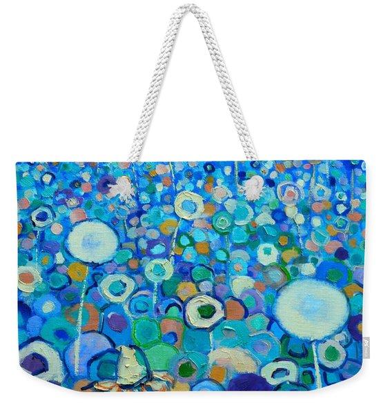 Colors Field In My Dream Weekender Tote Bag