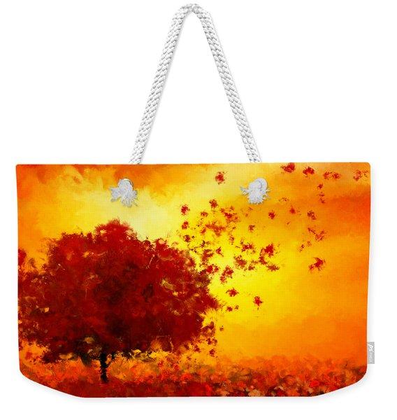 Colors Hymn Weekender Tote Bag