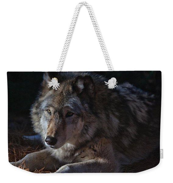 Colors Of A Wolf Weekender Tote Bag