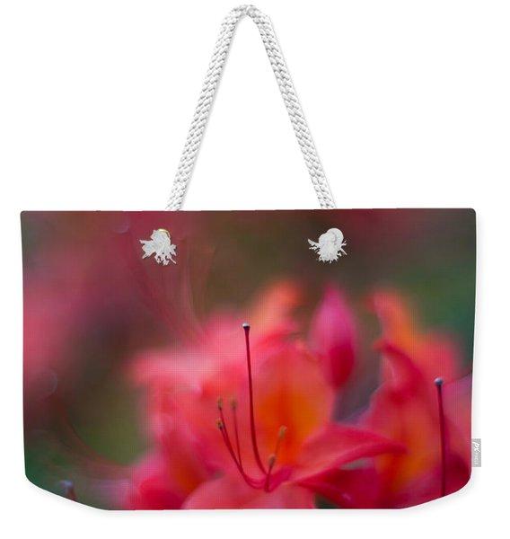 Colors Of Azalea Way Weekender Tote Bag