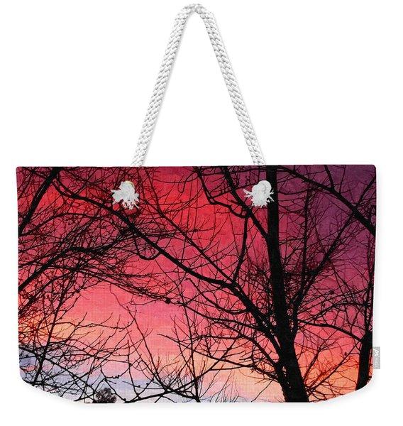 Colors Of Dusk Weekender Tote Bag
