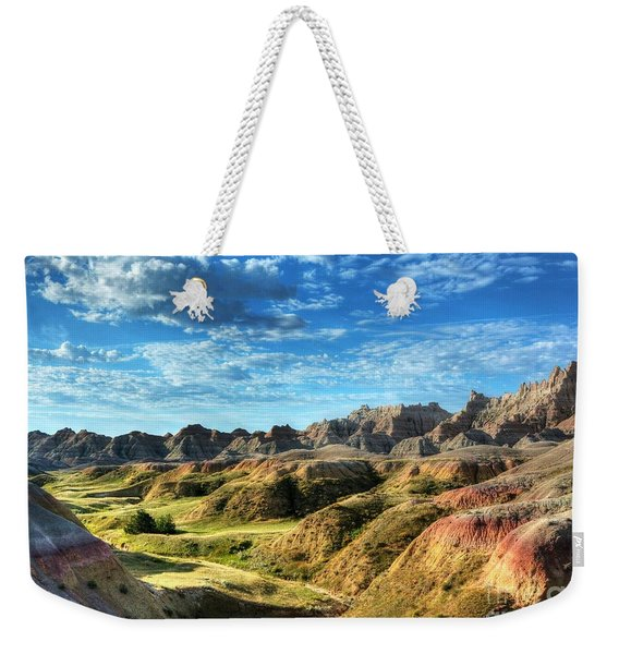 Colors Of The Badlands Weekender Tote Bag