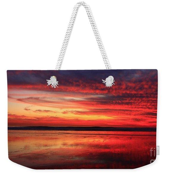 Encinitas Twilight Tide Weekender Tote Bag