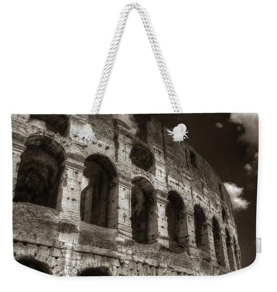 Colosseum Wall Weekender Tote Bag