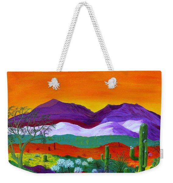 Colour Explosion Weekender Tote Bag