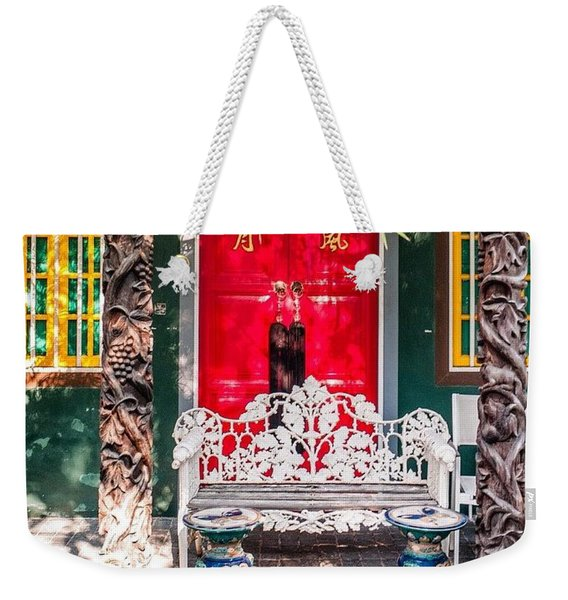 Colourful In Singapore Weekender Tote Bag