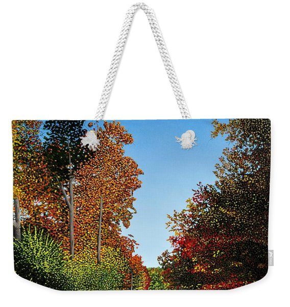 Colours Of Caledon Weekender Tote Bag