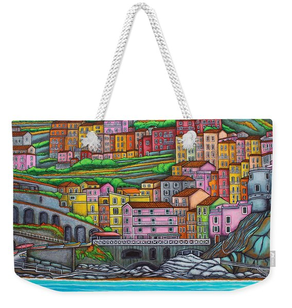 Colours Of Manarola Weekender Tote Bag
