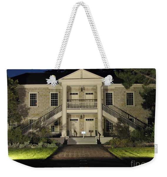 Colton Hall At Night Weekender Tote Bag