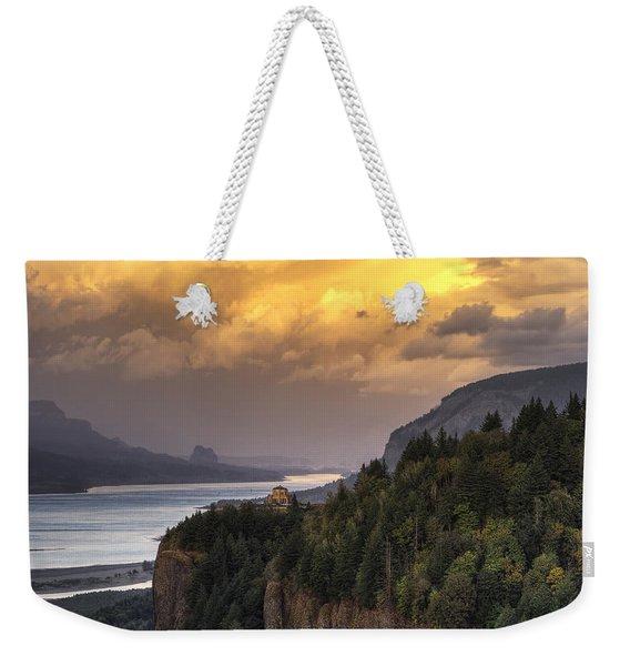 Columbia River Gorge Vista Weekender Tote Bag